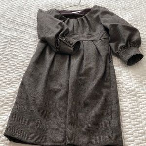 Badgley Mischka wool dress